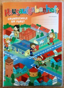 Hausaufgabenheft - Cover